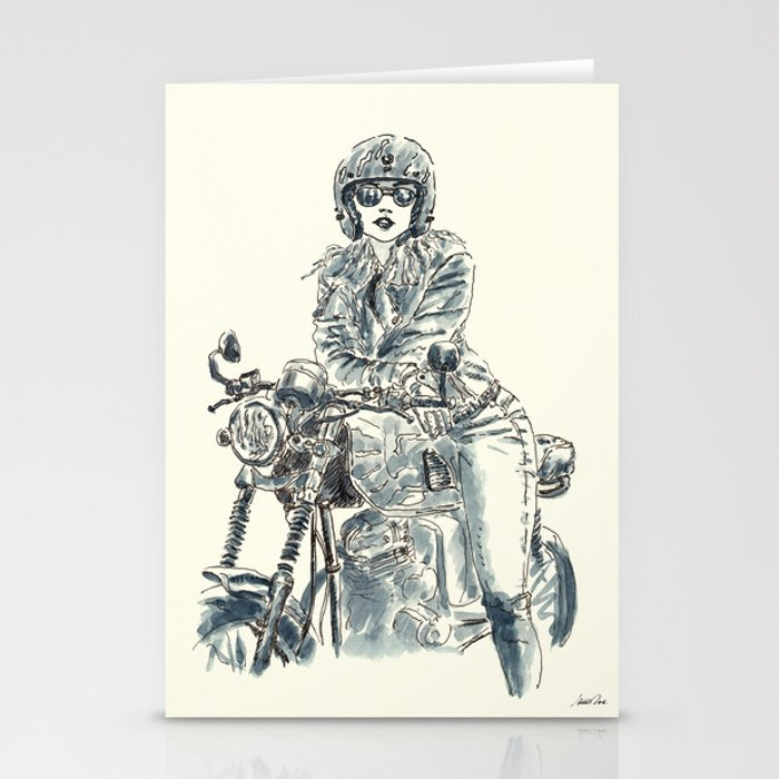 Lady Rider 200625 Cards (set of 3)