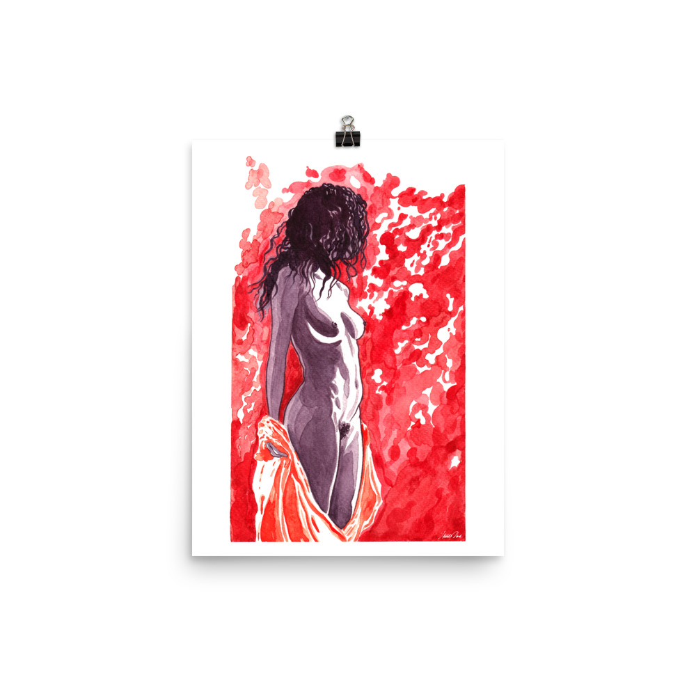 Unveil | Take 1 Art print