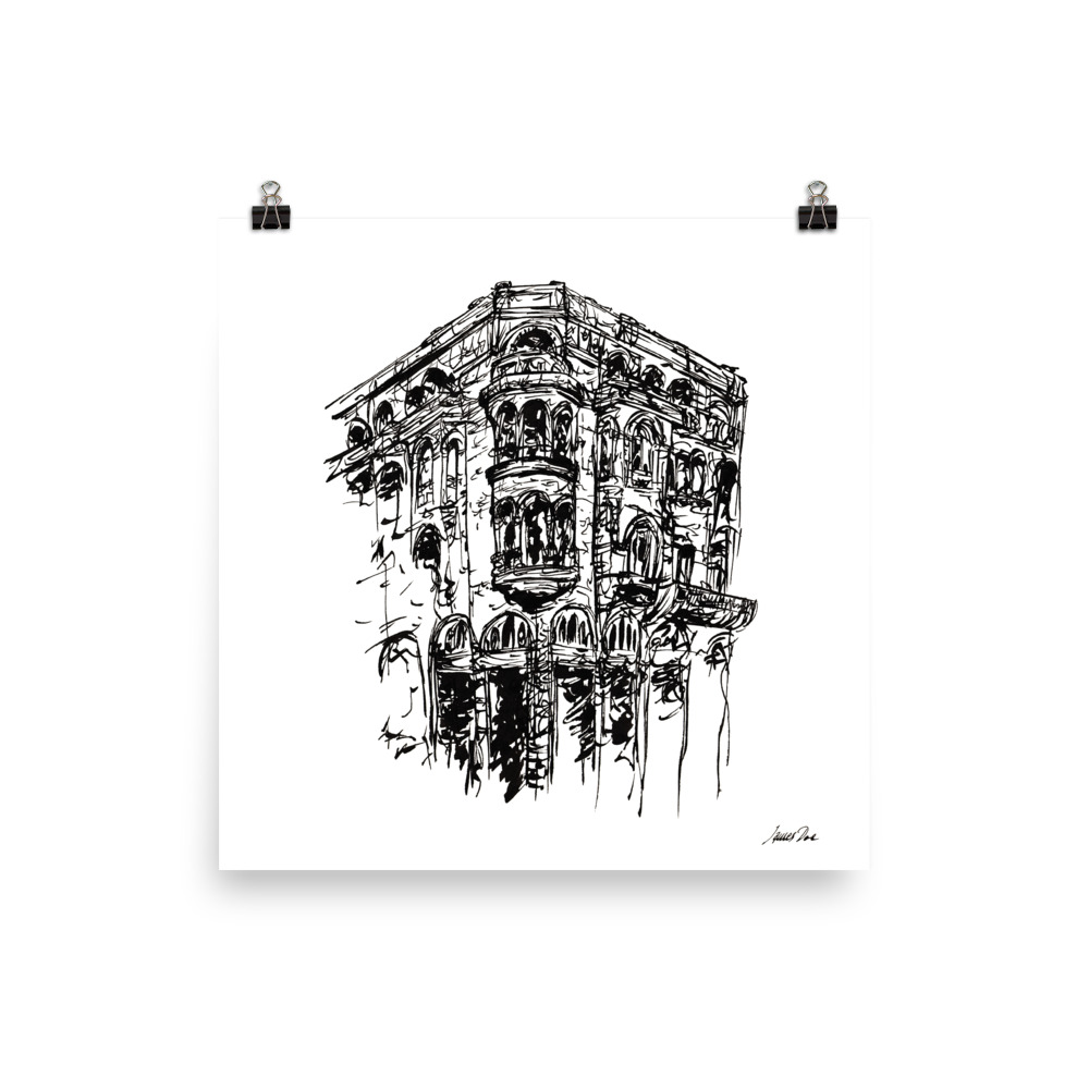 Inkscape 1 Thessaloniki Art print