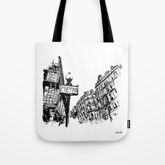 Inkscape 3 Paris Bag