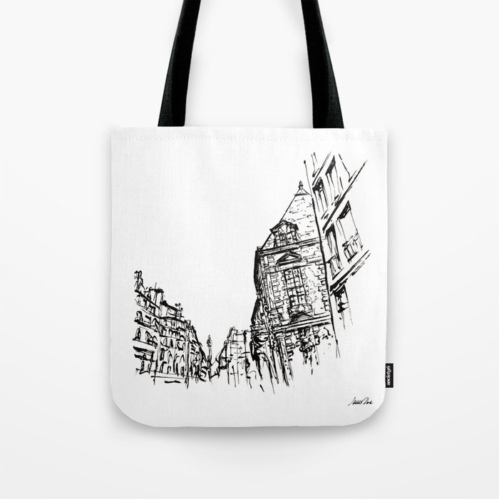Inkscape 5 Paris Bag
