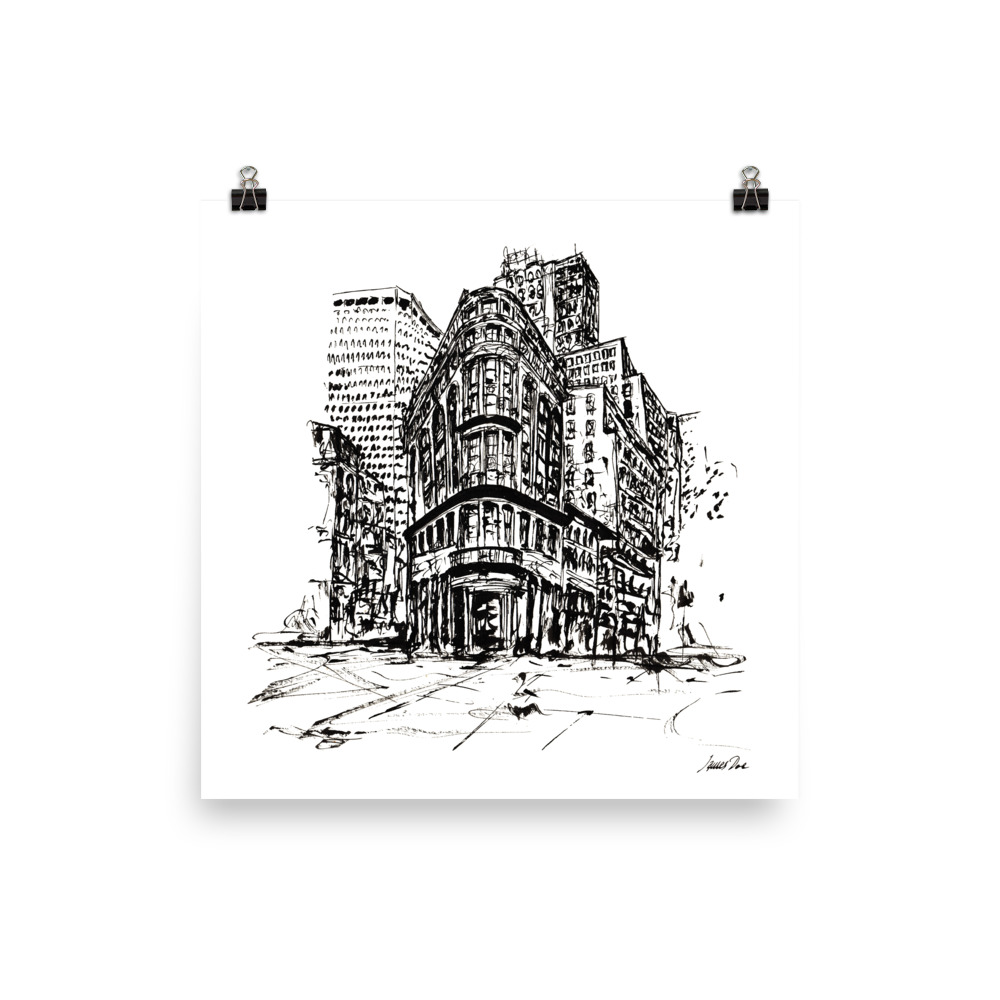 Inkscape 7 London Art print