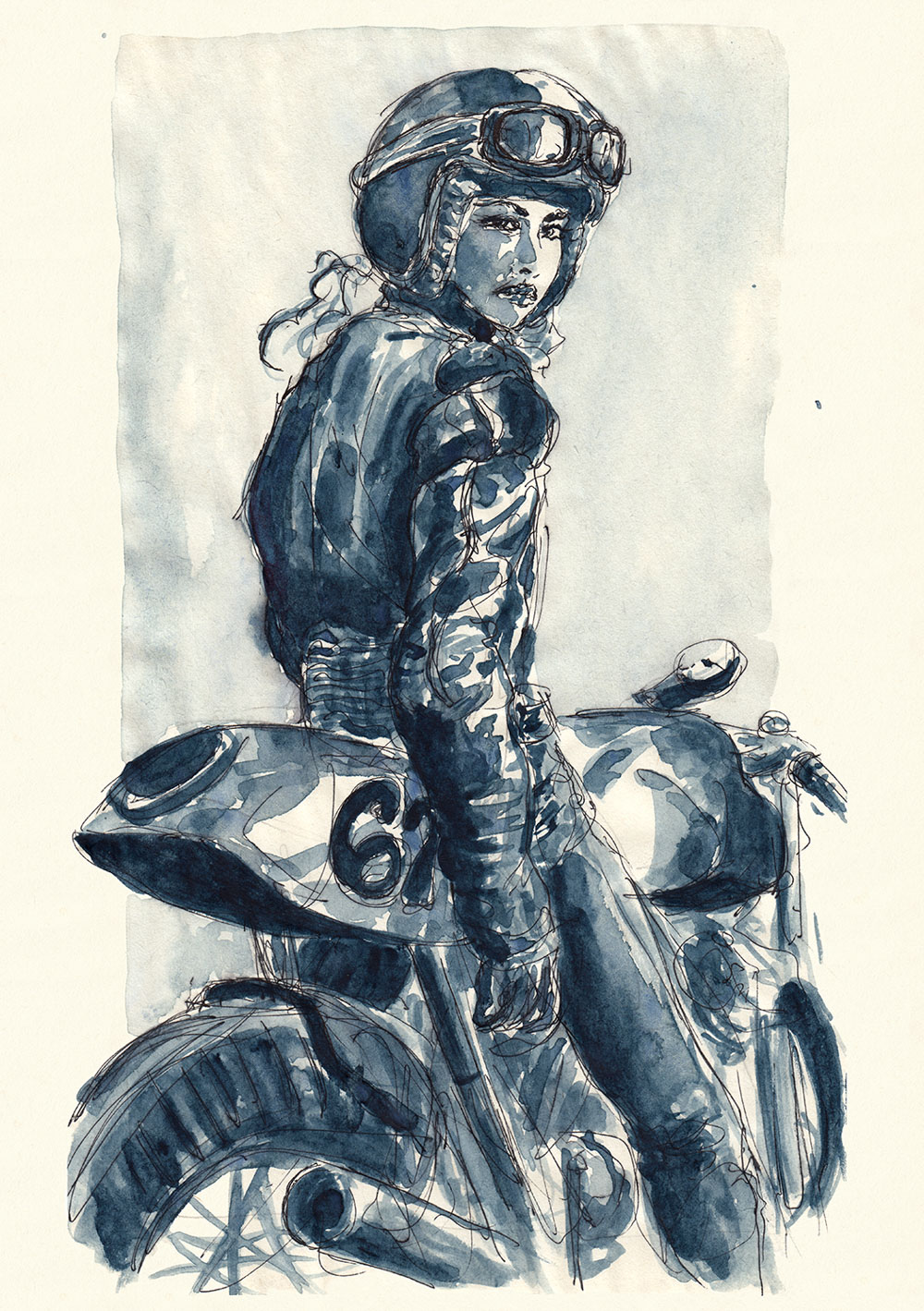 Lady Rider 170129