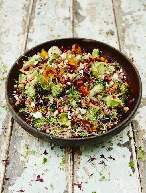 superfood salad jamie oliver food jamie oliver uk. Black Bedroom Furniture Sets. Home Design Ideas