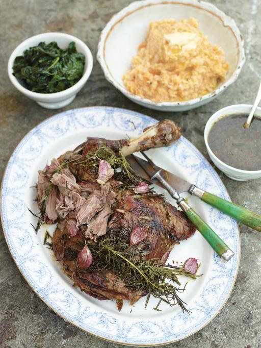 Roasted Shoulder of Lamb | Lamb Recipes | Jamie Oliver Recipes