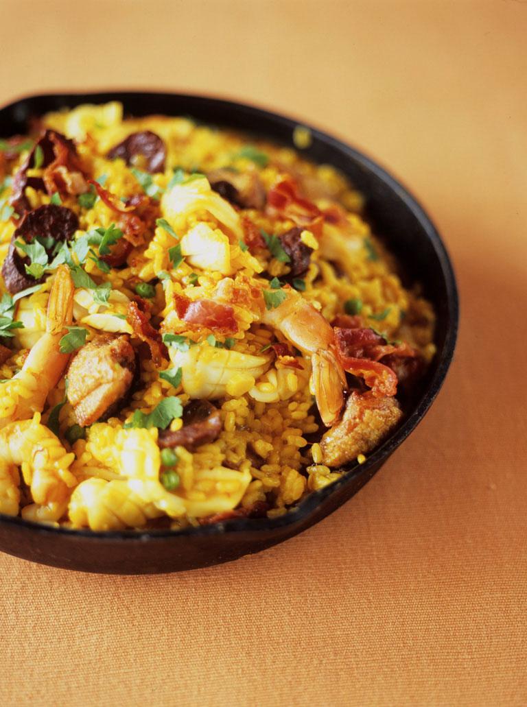 Seafood Paella Seafood Recipes Jamie Oliver Recipes