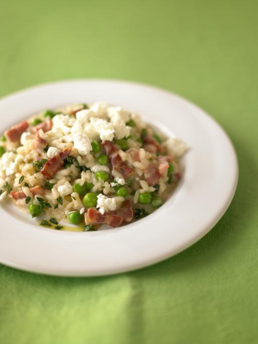 Pea Amp Goats Cheese Risotto Rice Recipes Jamie Oliver Recipes