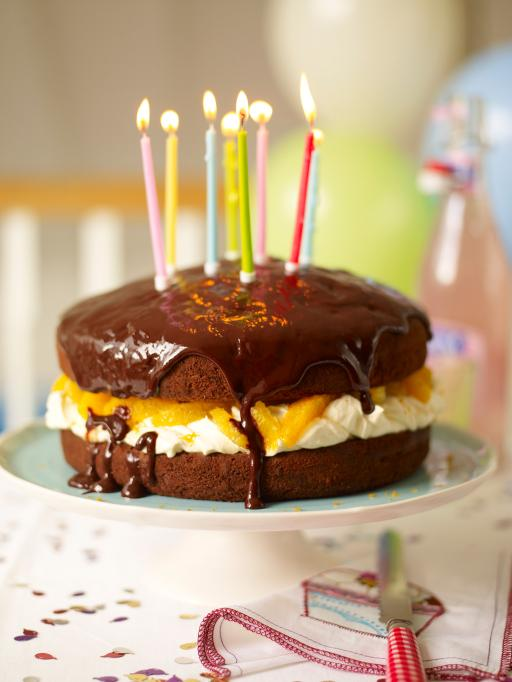 Jamie Oliver Chocolate Party Cake