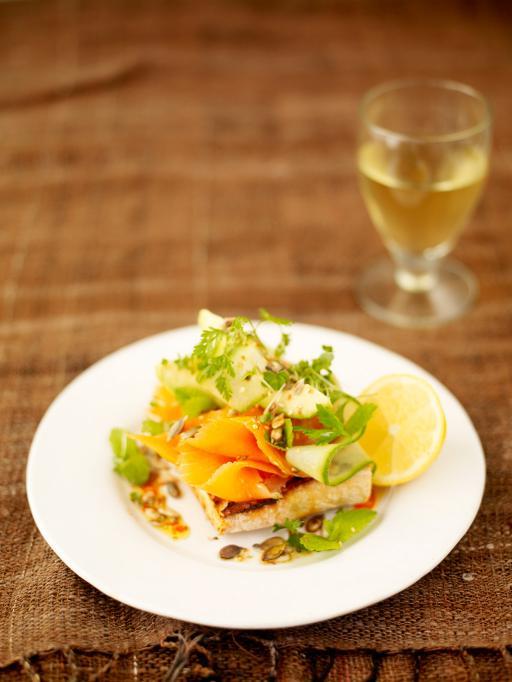 Smoked Salmon And Avocado Salad Fish Recipes Jamie