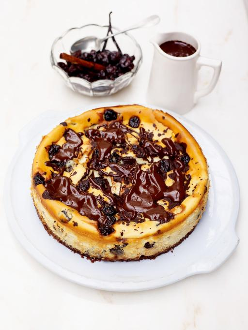 Cook With Me The Best Cherry Amp Chocolate Cheesecake