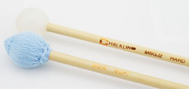 Chalklin,  Vic Firth and Adams combination mallets. Timpani/ Sd, rubber/ wood xylo, yarn/glock.