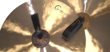 Sabian, Zildjian and Dream orchestral cymbals. Clashed pairs and suspended cymbals.