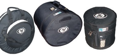 Soft bags for all drums and percussion. Protection Racket and Stagg bags. Drumkit,s and hardware.