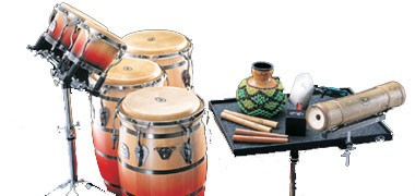 LP Cajons, and LP Latin American percussion- congas, bongos, cuicas and much more.