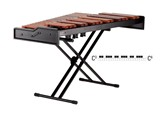 Adams Academy Marimba junior , 3 oct. C3-C6, padouk 58-40mm c/w  stand