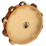 "Black Swamp  Tambourine Dbl. row 10"" - Chromium/Silver"