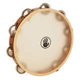 "Black Swamp SoundArt Series™ Tambourine Single row 10"" - German Silver"