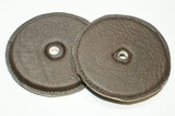 "Chalklin Leather cymbal pads 5"" (pair)"