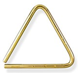 "Grover Bronze Hammered Lite Concert Triangle 5""-7"""