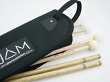 JAM Percussion Deluxe stick pack with JP2 stick bag (3 pairs-SD/Xylo/timpani)