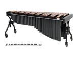 Adams Artist MAHV43 marimba van Sice, 4 1/3 oct. Honduras rosewood bars