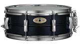 Pearl Ltd edition Black steel Sensitone Snare drum 14x5.5
