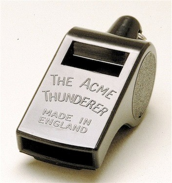 Acme Plastic Black Thunderer