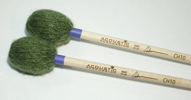 Acoustic Calum Huggan Sig CH10 marimba mallets -Bright (pr)