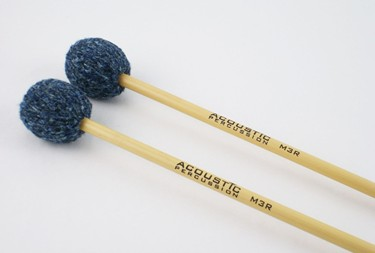 Acoustic Percussion Marimba Series M3R Medium mallet on Rattan (pr)