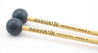 Acoustic Percussion OS4 Orchestral Series xylophone mallets on Rattan  (pr)