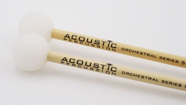 Acoustic Percussion OS5 Orchestral Series xylophone mallets on Rattan (pr)