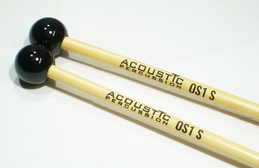 Acoustic Percussion OS1S Orchestral Series Hard glockenspiel mallets - rattan (p