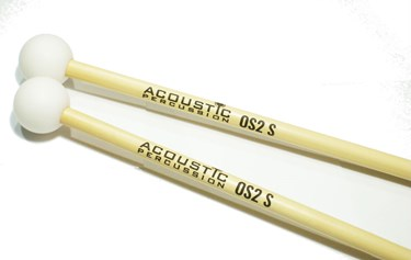 Acoustic Percussion OS2S Orchestral Series glockenspiel mallets on rattan (pr)
