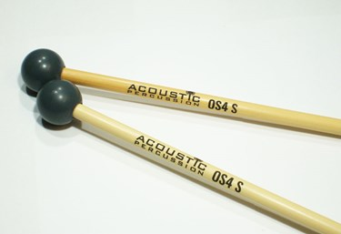 Acoustic Percussion OS4S Orchestral Series xylophone mallets on Rattan  (pr)