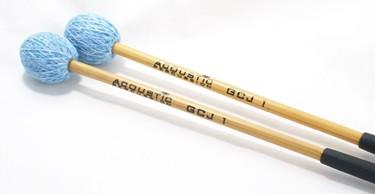 Acoustic GJ1 Articulate (Hard) 'Becken' cymbal mallets (pr)