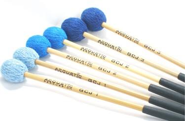 Acoustic GJ1/2/3  'Becken' cymbal mallet set (H/M/S) 3 prs