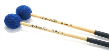 Acoustic GJ3 Sonorous (Soft) 'Becken' cymbal mallets (pr)