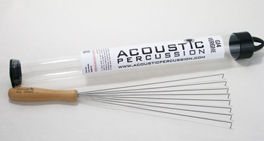 Acoustic Percussion GJ4 'Verghe' wire brush (single)