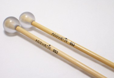 Acoustic Percussion OS3 Orchestral Series glockenspiel mallets on Rattan (pr)