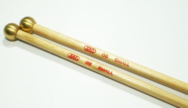 Adams GB 2 birch brass-small mallets (pair)