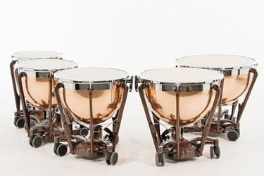 "Adams Professional Generation II timpani 20""-32"" copper hammered"