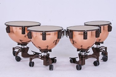 "Adams Revolution timpani 20""-32"" copper hammered"