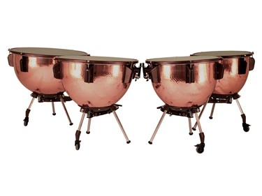 "Adams Universal timpani 20""-32"" hand-hammered copper"