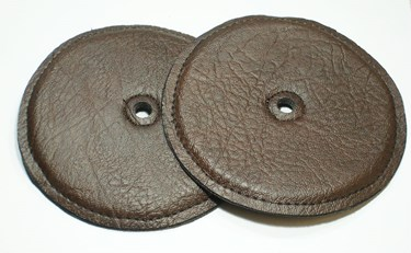 "Chalklin Leather cymbal pads 6"" (pair)"