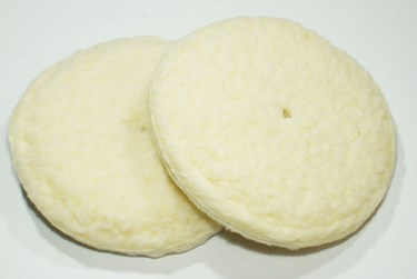 "Chalklin Lambswool 6"" cymbal pads (pair)"