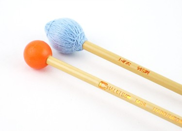 Chalklin MS14/MS3  soft Vibraphone/hard glock/xylo  combination mallets (pr)