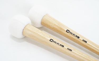 Chalklin  BDAT1  'Articulate' Hard Bass Drum mallets (pair)