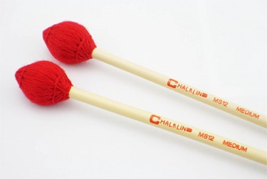 Chalklin MS12 Vibraphone mallets - medium (pr)