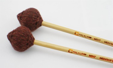 Chalklin MS17 Marimba mallets - medium soft (pr)