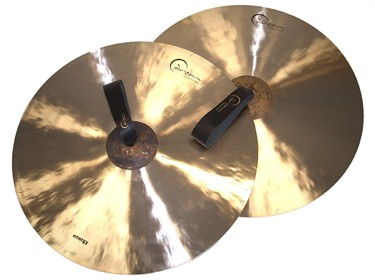 "Dream 'Energy' 17"" Orchestral clash Cymbals - pair c/w straps"